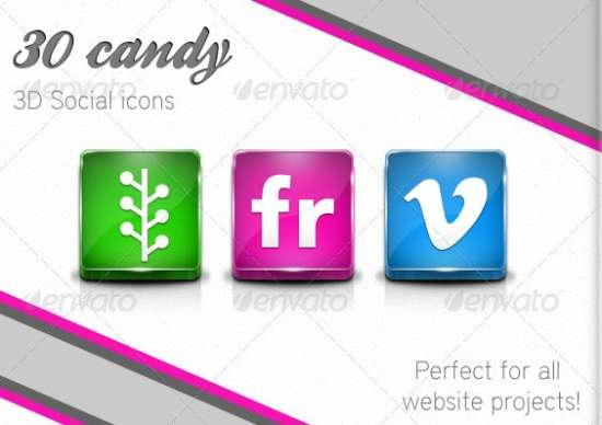 30-candy-3d-social-icons