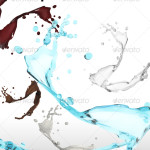 Awesome Premium Splash Water Graphic Collections