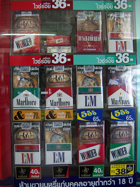 Cigarette Warnings Design How Scary Are You Ginva