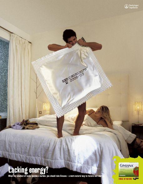Ginsana: Condom