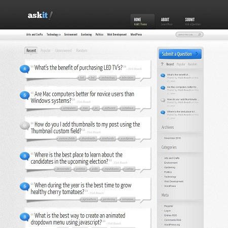 askit wordpress theme