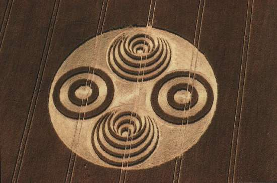 Crop Circle - Savernake Forrest