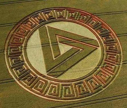 Awesome Waden Hill Crop Circle 2005