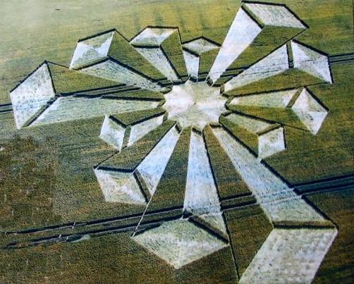 3-D crop circle