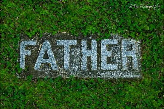Father Grave Headstone