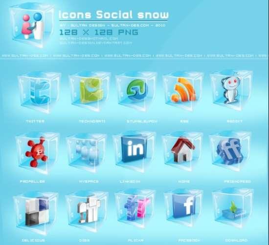 icons Social snow