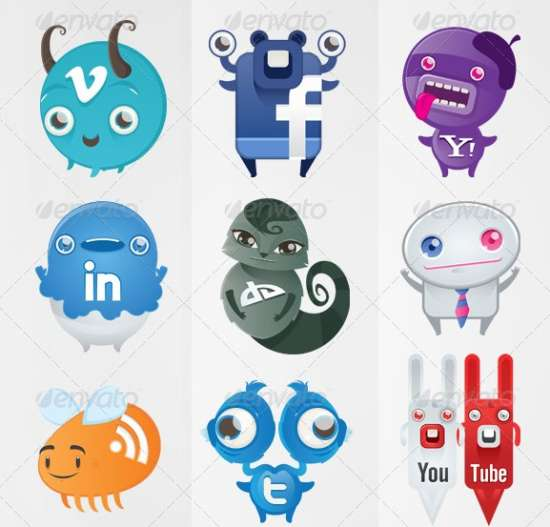 Social Networking Monsters