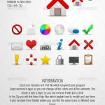 18 Web Media Icons