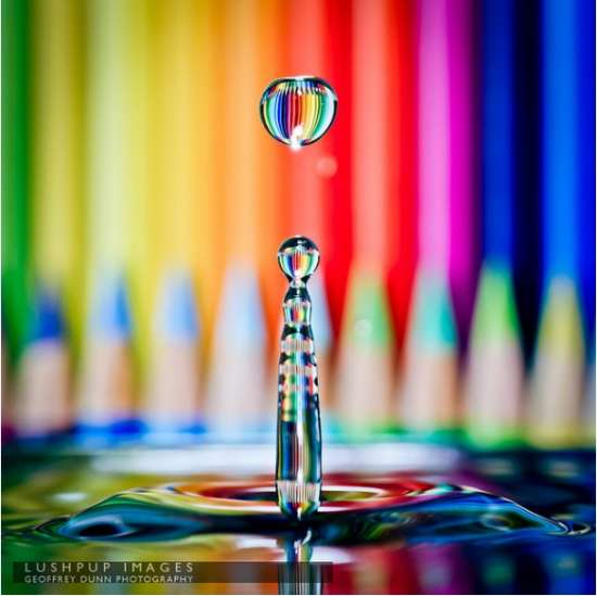 coloured pencils photography