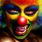 Evil Celebrity Clown – Cool Photo Effect and Manipulations