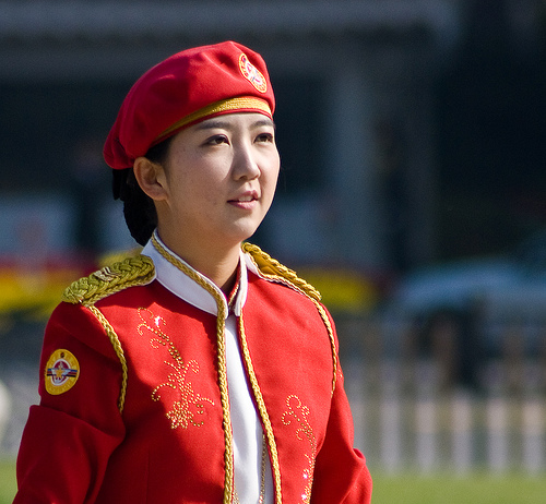 South Korean Army's female