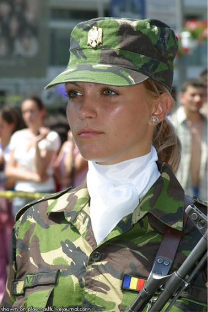 Romanian Female Soldier