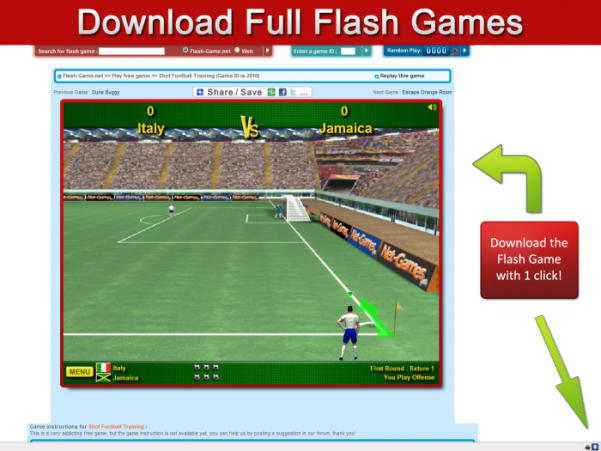 Download Flash game and Online Video