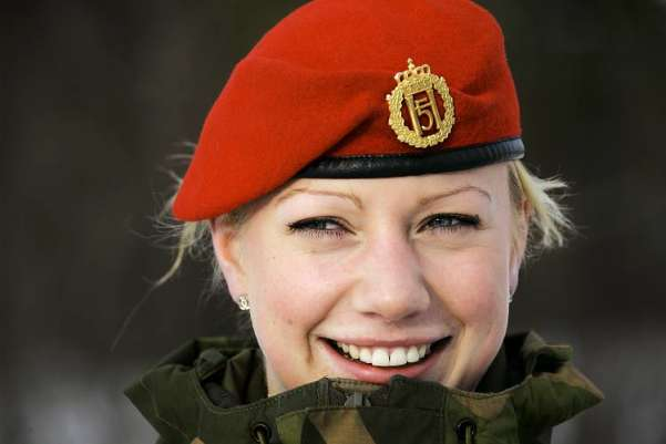 Norwegia Female Soldier