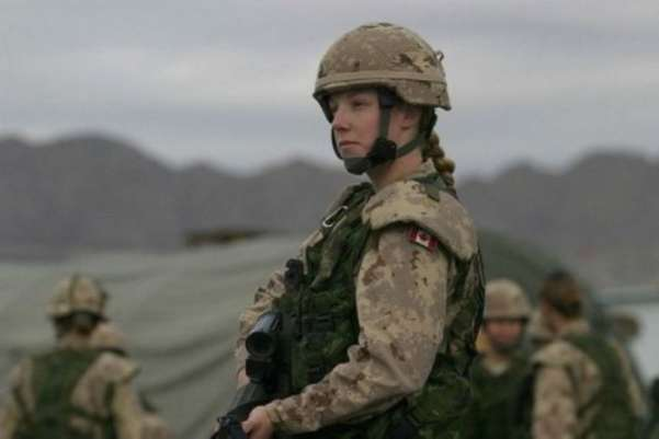 Canadian Female Soldier