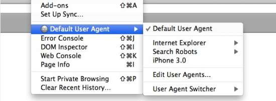 User Agent Switcher - Firefox Add-ons for Web Developers & Designers