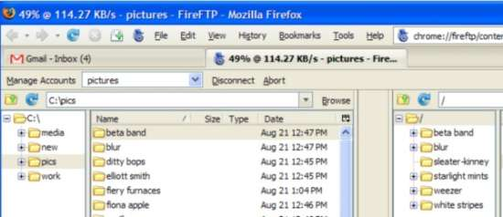 FireFTP Firefox Add-ons for Web Developers & Designers
