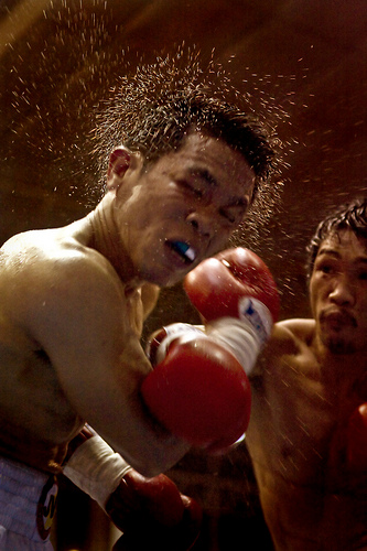Expressive Face Photos - Boxing Photos