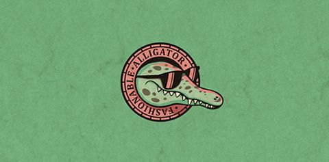 Fashionable Aligator