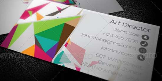 50 Nice Examples of COLORFUL Business Card Designs