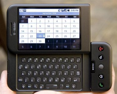 HTC Dream slider smartphone