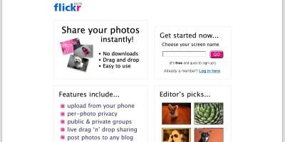 Flickr (2004)