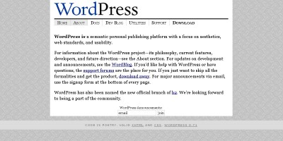 WordPress.0rg (2003)