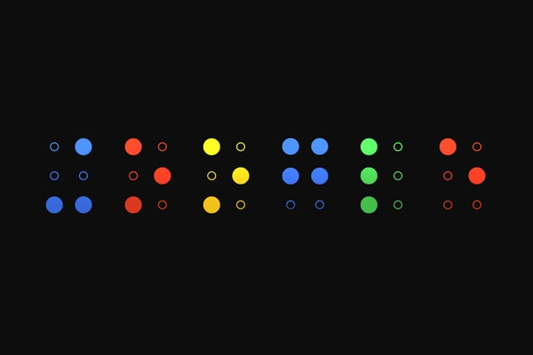 Google braille wallpaper