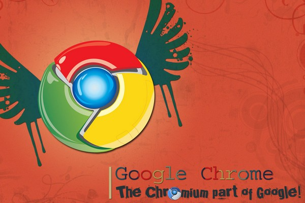 Google Chrome Vector Wallpaper