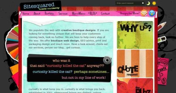 COLORFUL Website Design Showcase