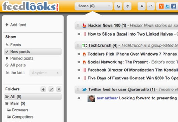 The Best Alternative to Google Reader