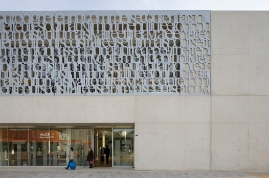 When Architecture Meets Typography