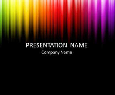 Colorful Microsoft PowerPoint Templates