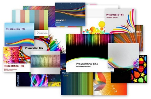 download 40+ free colorful powerpoint templates | ginva, Modern powerpoint