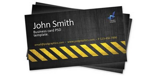 Collection of Photoshop Business Card Templates,Tutorials and Free PSD ...