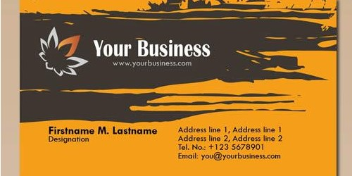 download free business card psd templates 12
