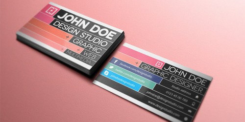 download free business card psd templates 3