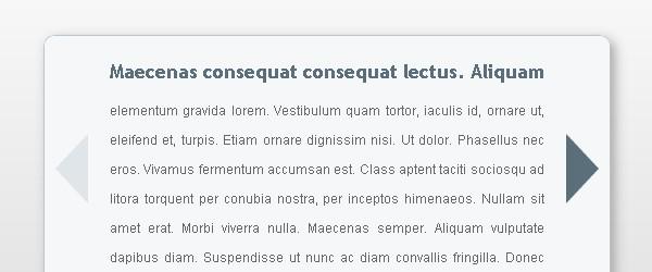 CSS Content Slider
