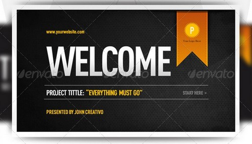 free and premium business powerpoint templates  ginva, Templates