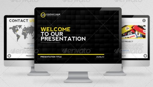 80+ free and premium business powerpoint templates | ginva, Presentation templates