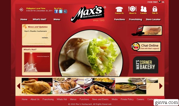 how to make a restaurant website html