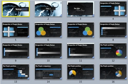 18 absolutely free keynote theme and presentation backgrounds | ginva, Powerpoint templates