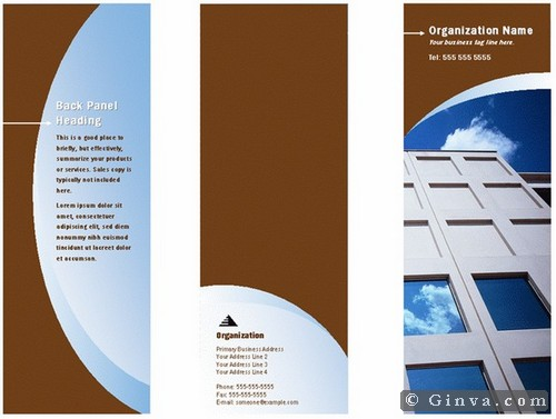 Download free microsoft office brochure templates ginva for Microsoft word template brochure