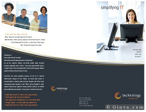Download Free Microsoft Office Brochure Templates – Business Pamphlet Templates