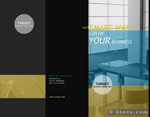 Download Free Microsoft Office Brochure Templates | Ginva
