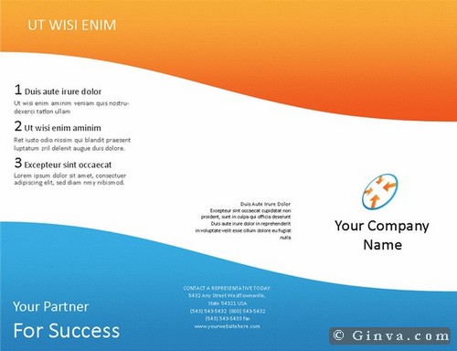 Download Free Microsoft Office Brochure Templates – Free Brochure Templates for Word to Download