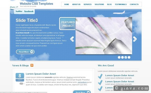 free website template 101