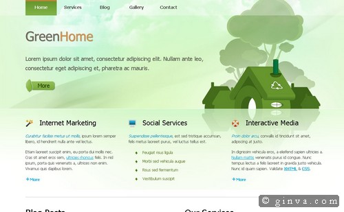 free website template 103