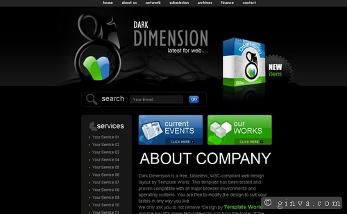 free website template 114