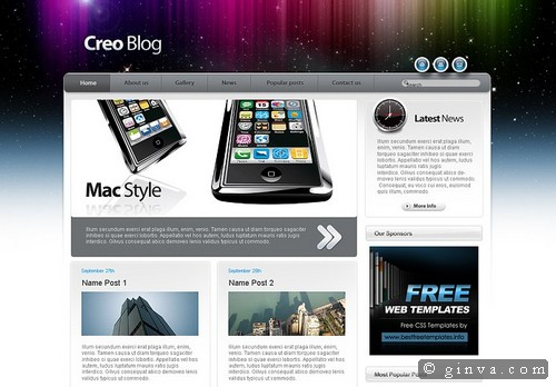 free website template 115